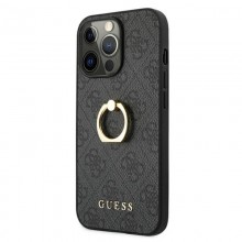 Guess 4G Ring Case - Etui iPhone 13 Pro (szary)