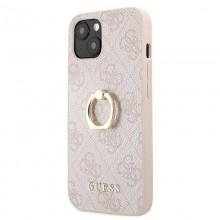 Guess 4G Ring Case - Etui iPhone 13 mini (różowy)