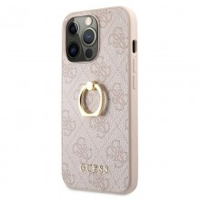 Guess 4G Ring Case - Etui iPhone 13 Pro Max (różowy)