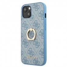 Guess 4G Ring Case - Etui iPhone 13 mini (niebieski)