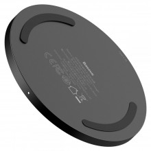 BASEUS SIMPLE MAGNETIC MAGSAFE WIRELESS CHARGER 15W BLACK