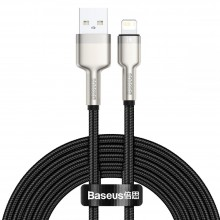 BASEUS CAFULE METAL LIGHTNING CABLE 2.4A 200CM BLACK