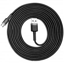 BASEUS CAFULE MICRO-USB CABLE 300CM GREY/BLACK