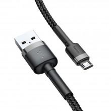 BASEUS CAFULE MICRO-USB CABLE 100CM GREY/BLACK
