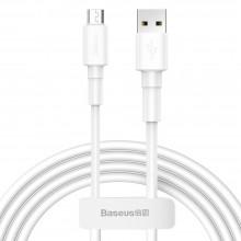 BASEUS MINI WHITE MICRO-USB CABLE 100CM WHITE