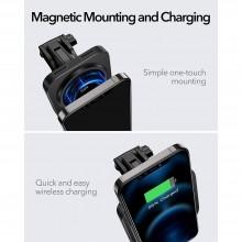 ESR HALOLOCK MAGNETIC MAGSAFE DASHBOARD CAR MOUNT BLACK