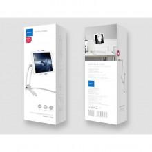 ROCK UNIVERSAL STAND HOLDER SMARTPHONE & TABLET SILVER